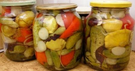 маринад для овочів на зиму рецепт приготування
