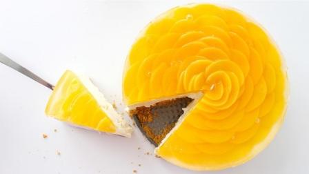 чізкейк з персиками рецепт приготування