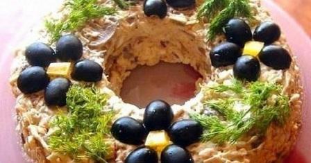 салат «лісовик» рецепт приготування