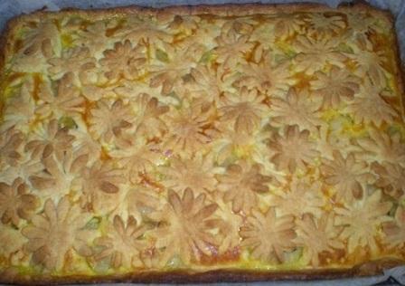 яблучний пиріг з пісочним тістом рецепт приготування