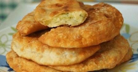 смажені пиріжки з картоплею рецепт приготування
