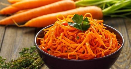 морква по корейськи рецепт приготування
