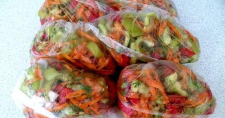 овочева заготівля рецепт приготування
