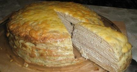 млинцевий торт рецепт приготування