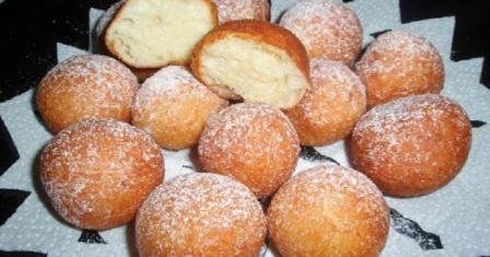 дріжджові пончики рецепт приготування