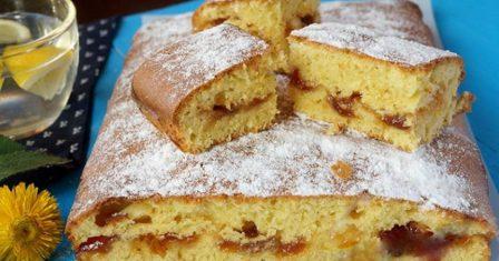 пиріг з варенням рецепт приготування