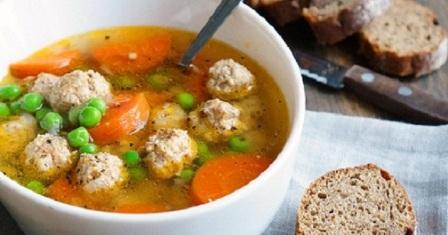 суп з фрикадельками рецепт приготування