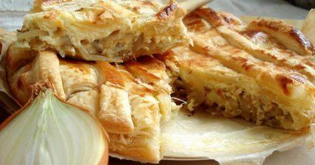 цибулевий пиріг рецепт приготування
