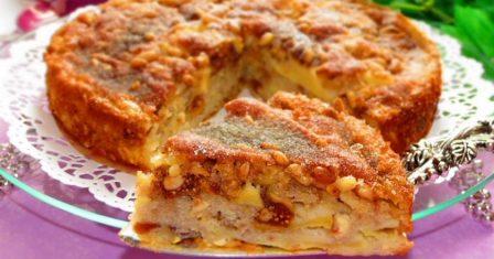 сицилійський яблучний пиріг рецепт приготування