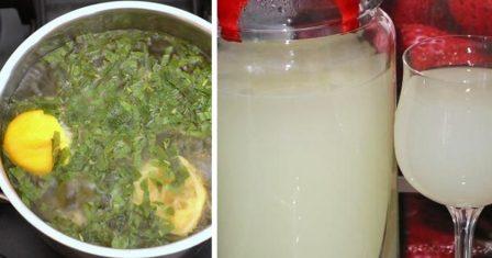 лимонад з м'ятою рецепт приготування