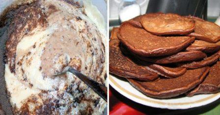 шоколадні оладки рецепт приготування