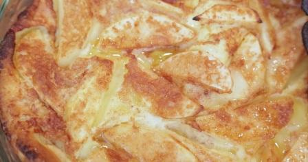 яблучний пиріг з корицею рецепт приготування