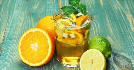 безалкогольна сангрія рецепт приготування