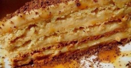 торт «крем брюле» рецепт приготування