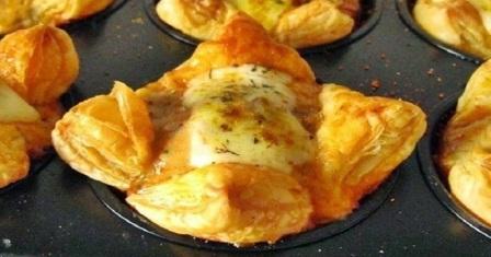 закуска з листкового тіста рецепт приготування