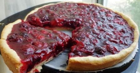 вишневий тарт рецепт приготування