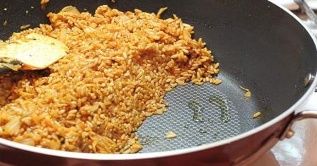 смажений рис рецепт приготування