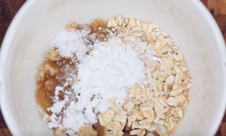 яблучний крамбл рецепт приготування