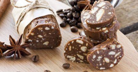 шоколадна ковбаса рецепт приготування