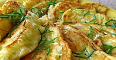капуста з сирною начинкою рецепт приготування