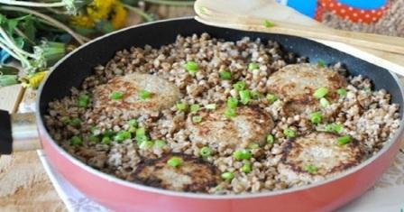 гречка на сковороді рецепт приготування