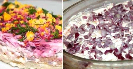 салат «маргаритка» рецепт приготування