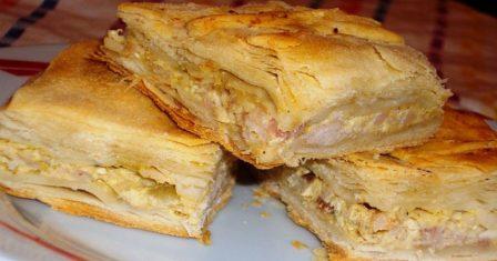 курячий пиріг по грецьки рецепт приготування