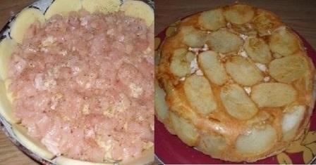 картопляний пиріг рецепт приготування