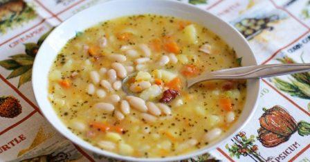 квасолевий суп рецепт приготування