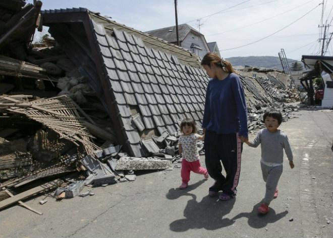 За місяць в Японії сталося понад 1,5 тис землетрусів