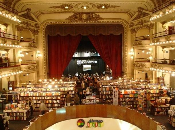 Книгарня Libreria El Ateneo Де: Аргентина, Буенос – Айрес