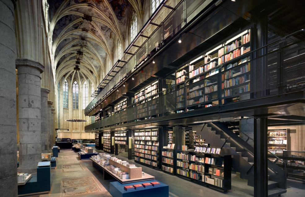 Книгарня Selexyz Dominicanen Де: Нідерланди, Маастріх