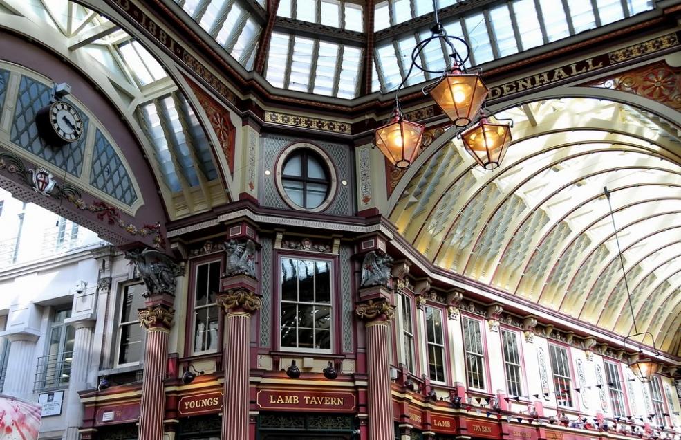 Ринок Ліденхолл Де: Великобританія, Лондон