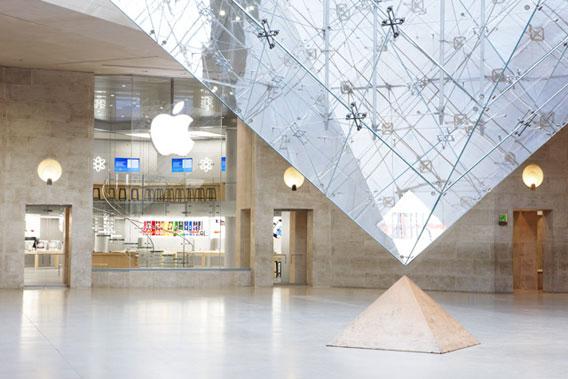 Магазин Apple Де: Франція, Париж