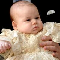 принц джордж уперше вийшов у світло