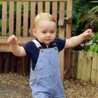 принц джордж відзначив перший день народження