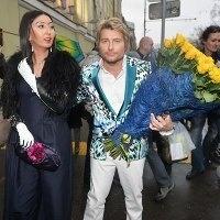 басков прийшов на ювілей пугачової з казахської мільйонеркою
