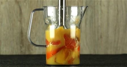 смузі з хурми і сицилійського апельсина рецепт приготування