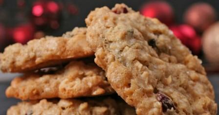 вівсяне печиво з горіхами рецепт приготування