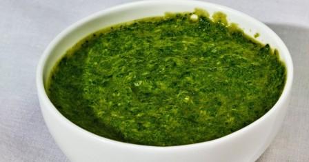 вершковий соус зі шпинатом рецепт приготування