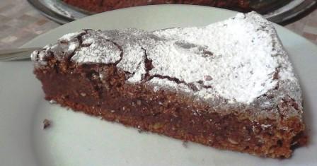 шоколадний пиріг з кабачків рецепт приготування