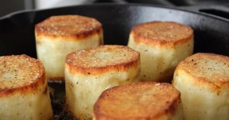 картопля з маслом «фондан» рецепт приготування