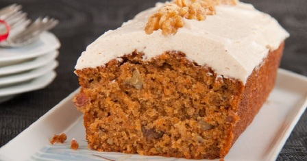морквяний пиріг рецепт приготування
