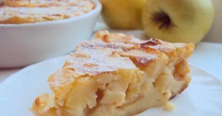сирна запіканка з яблуками рецепт приготування