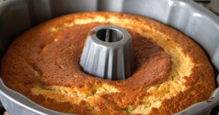 банановий кекс з сирною начинкою рецепт приготування
