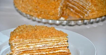 торт «паризький коктейль» рецепт приготування