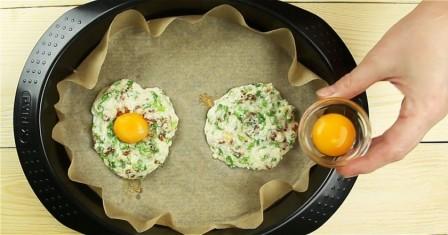 яйця в хмарах рецепт приготування