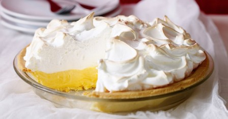 лимонний пиріг з меренгою рецепт приготування