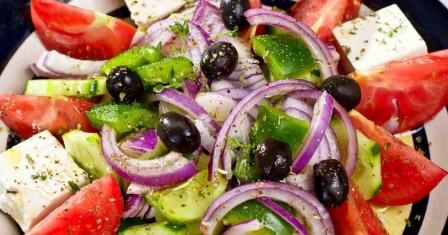 класичний грецький салат рецепт приготування