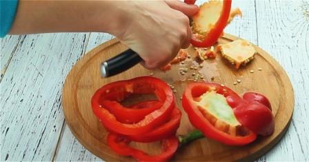 яєчня в перці рецепт приготування